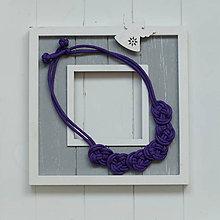 Náhrdelníky - Paracord náhrdelník - 9799669_
