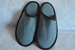 Obuv - Papuče- do modra - 9799442_