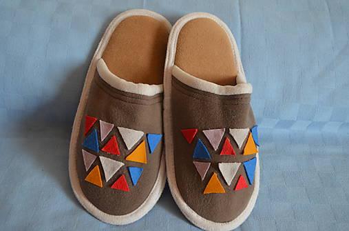 Papuče-trojuholníky