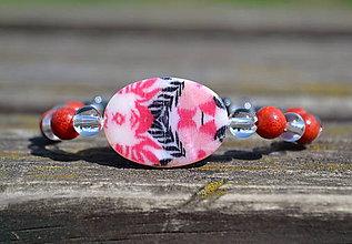 Náramky - detský náramok ochrany s koralom - 9799610_