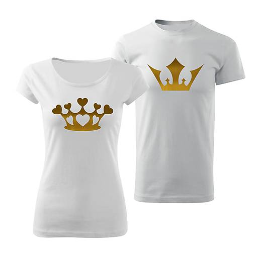 43e7db226aad Tričká pre páry King and Queen   designedbyDESA - SAShE.sk ...