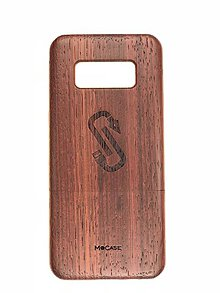 Na mobil - Drevený kryt MoCase na Samsung S8 Padouk - 9800380_