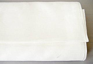 Textil - ľan-biely - 9800837_
