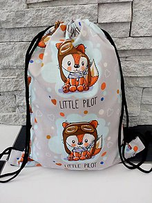 Detské tašky - Batoh S pilot - 9799711_