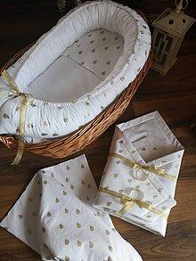 Textil - Hniezdo pre bábätko AKCIA - 9800364_