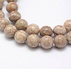 Minerály - Chryzantémový kameň 8 mm - 9799102_