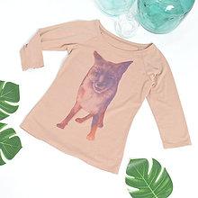 Tričká - Tričko s líškou AntropoGallery - 9799417_