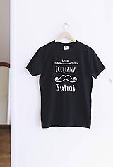 - Som ľúbezný šuhaj (tmavomodré tričko) (S) - 9800323_