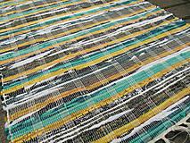 Úžitkový textil - RUČNE TKANÝ KOBEREC cca70x200cm - 9802148_