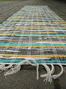 Úžitkový textil - RUČNE TKANÝ KOBEREC cca60x210cm - 9802154_