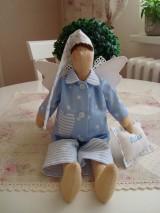 Bábiky - Anjelik - spinkáčik na želanie - 9802403_