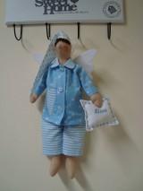 Bábiky - Anjelik - spinkáčik na želanie - 9802408_
