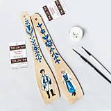 Pomôcky - Maľované varešky s postavičkou - Myjava - 9801650_