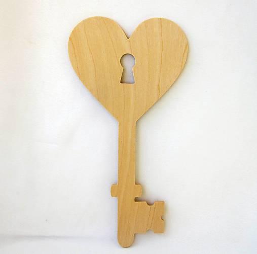 Kľúčik so srdcom