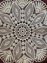 """Úžitkový textil - Čipka /Оbrus """"Kráľovná"""" - 9802542_"""