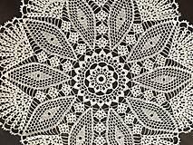 """Úžitkový textil - Čipka /Оbrus """"Kráľovná"""" - 9802543_"""