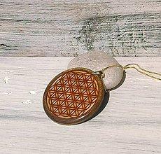"""Iné šperky - Prívesok """"Kvet života"""" - živicový - 9802312_"""