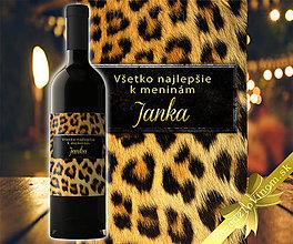 Grafika - Meninové víno Janka - 9801515_
