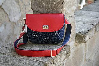Iné tašky - ľadvinka Lujza červená - 9802937_