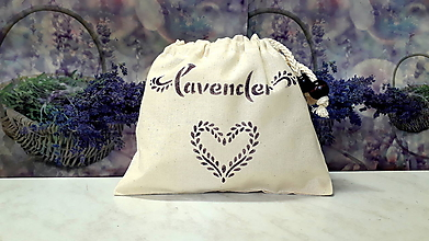 Úžitkový textil - vrecúško na levanduľu - 9801675_