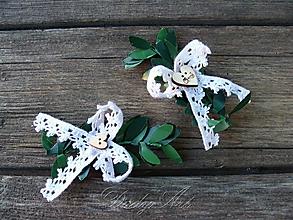 Pierka - svadobné pierka písmenkové Krušpán - 9803639_