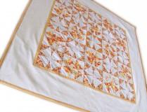 """Úžitkový textil - Obrus """"Žlté ruže"""" - 9674180_"""