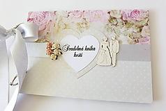 Papiernictvo - svadobná kniha hostí - 9803810_