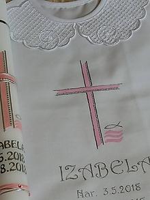 Detské doplnky - krstový set Isa - 9803819_