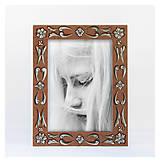Rámiky - Maľovaný rámček - Fresko, zľava 15% - 9804358_