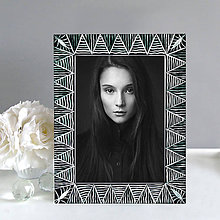 Rámiky - Maľovaný rámček - Geometria - 9804124_