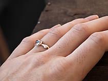 Prstene - Vetvičkový s alexandritom, striebro - 9803826_