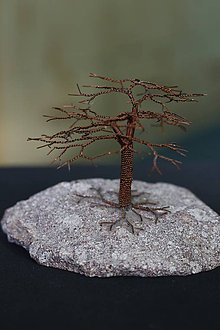 Drobnosti - drôtený stromček - 9804004_