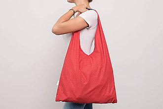 Iné tašky - Bodka / červená - 9805518_
