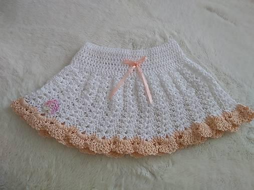 4bdcd81f5 Háčkovaná suknička / Maja.Hara - SAShE.sk - Handmade Detské oblečenie