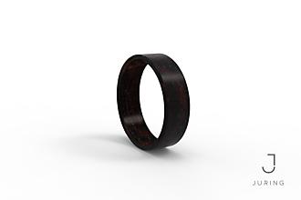 Prstene - Drevený prsteň Eben - 9804414_