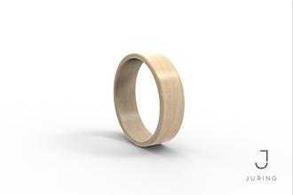 Prstene - Drevený prsteň Javor - 9804421_