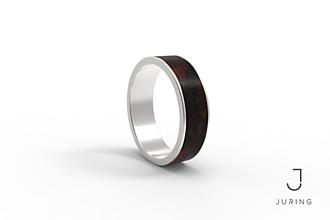 Prstene - Stříbrný Classic EBEN - 9804467_