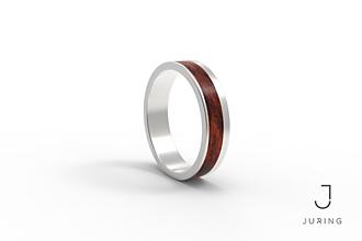 Prstene - Elegant PALISANDER - 9804521_