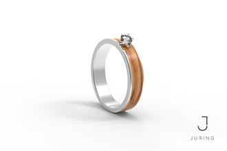 Prstene - Zásnubný slim OLIVA - 9804670_