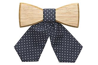 Náhrdelníky - ORIGINÁL – Dámsky drevený motýlik Coloo Woman - 9806370_