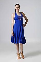 Šaty - Šaty s viazaním a výšivkou - 9806030_