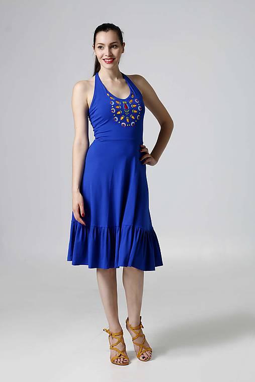 Šaty s viazaním a výšivkou   ZuzanaZachar - SAShE.sk - Handmade Šaty 3040fbae7bb
