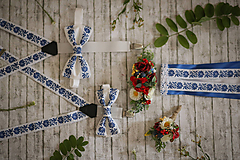 Pierka - Folklórne svadobné pierko - 9808408_