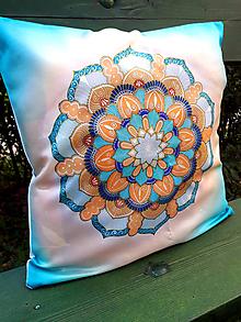 Úžitkový textil - Vankúšik Kreatívna komunikácia - 9807743_