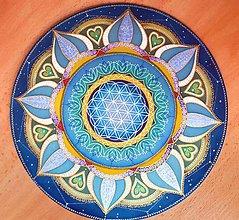 Dekorácie - Mandala Kvet života II - 9807820_