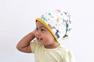 Detské čiapky - Dvojvrstvová čiapka/nakrcnik