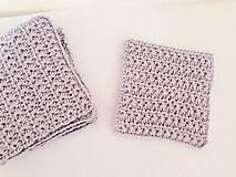 Úžitkový textil - Hviezdičkové podšálky - 9807264_