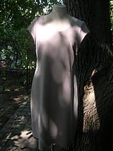 Šaty - Ľanové šaty pre pohodu :) - 9806825_