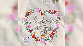 Nákupné tašky - ♥ Plátená, ručne maľovaná taška ♥ (MI18) - 9807643_