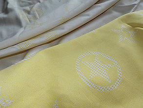 Textil - Fidella Outer Space Yellow - 9806875_